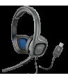 Auricular Plantronics Audio 655 USB Dúo