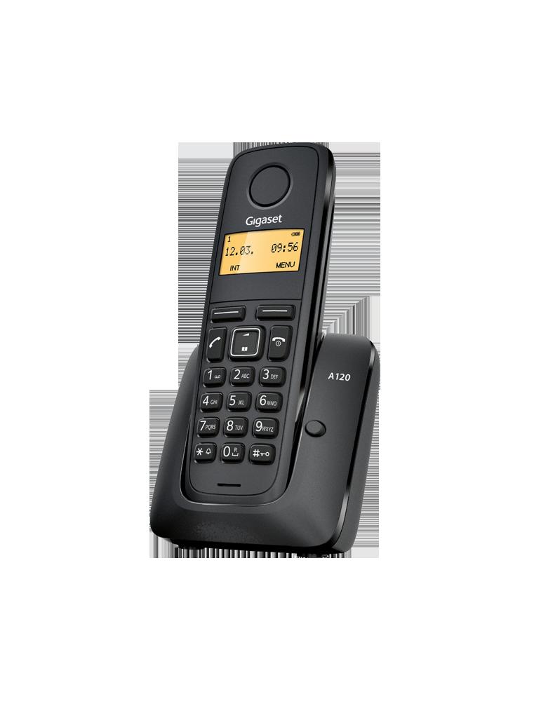Teléfono Gigaset A120 Negro