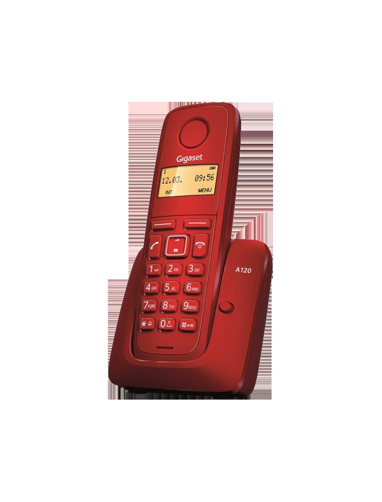 Teléfono Gigaset A120 Rojo