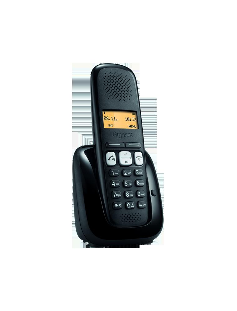 Teléfono Gigaset A250 Negro