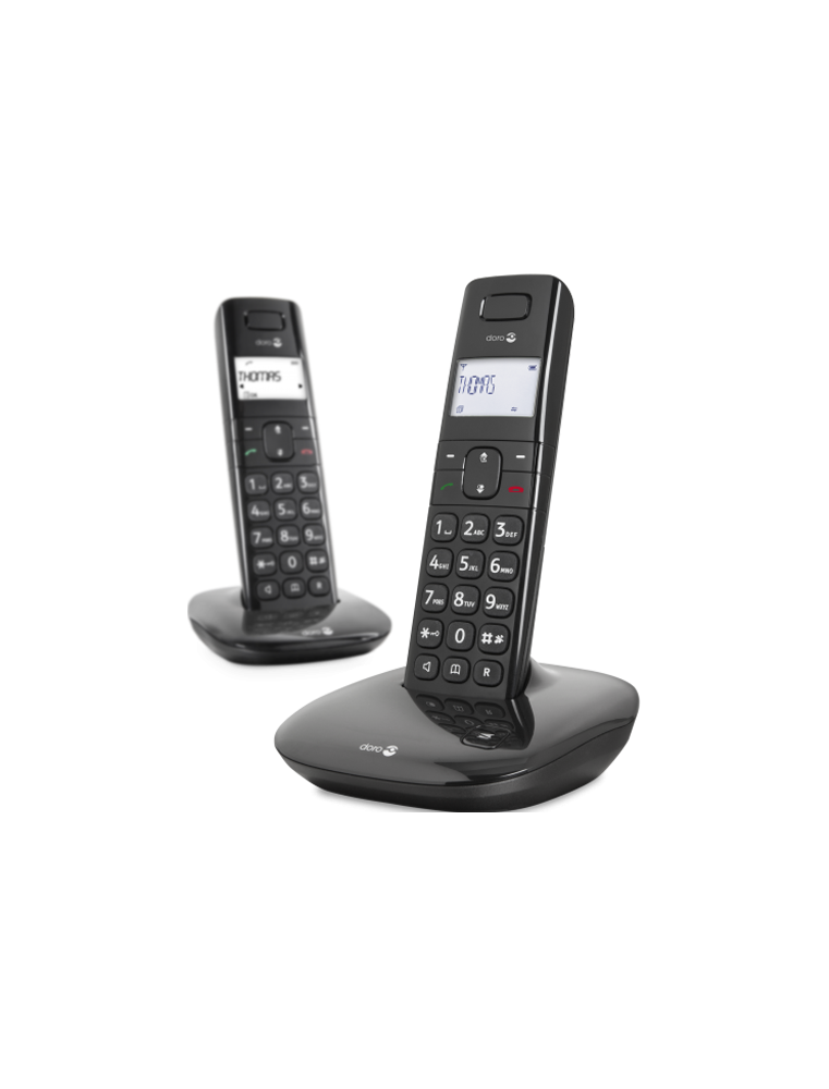Teléfono Doro Confort 1010 Dúo Negro