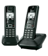 Teléfono Gigaset A420 Dúo Negro