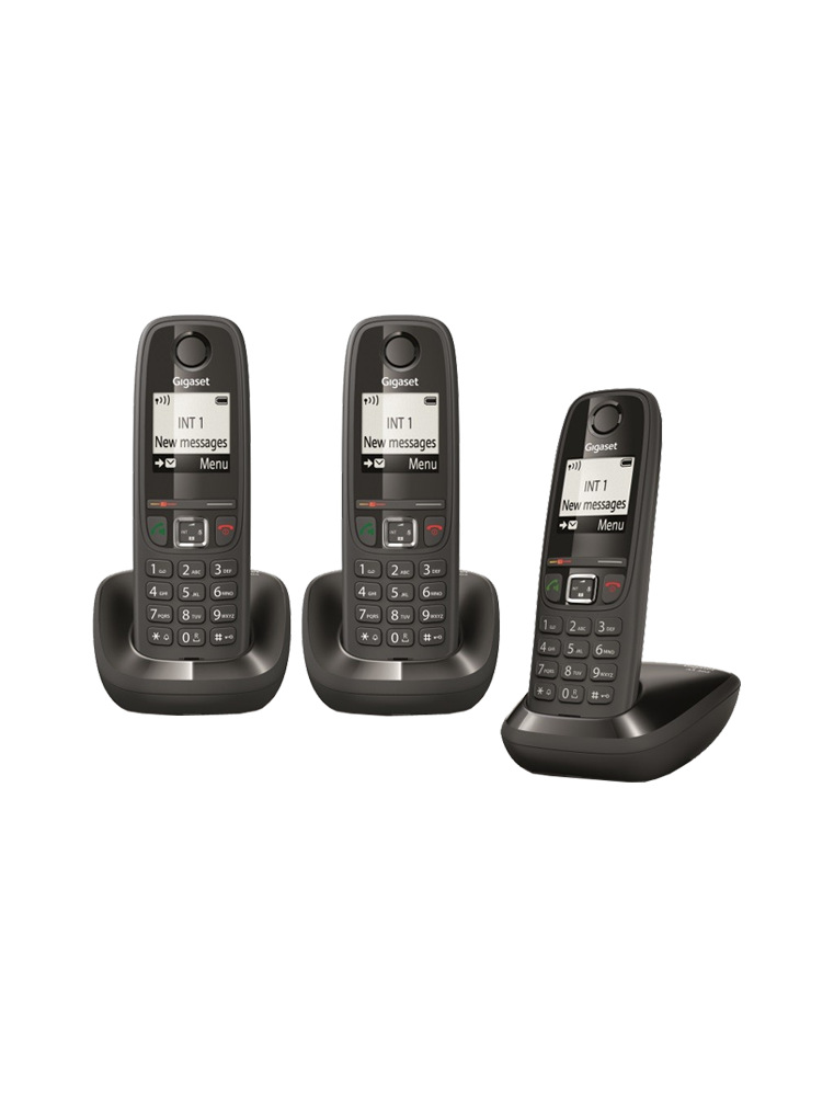 tel fono gigaset as405 tr o terminal inal mbrico dect. Black Bedroom Furniture Sets. Home Design Ideas