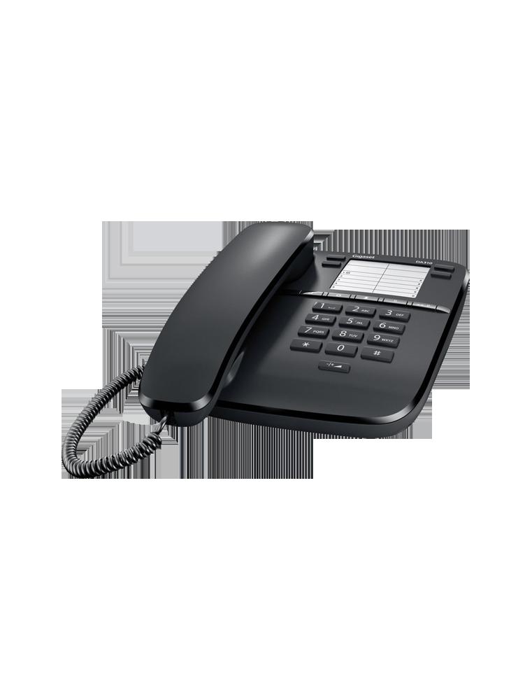 Teléfono Gigaset DA310 Negro