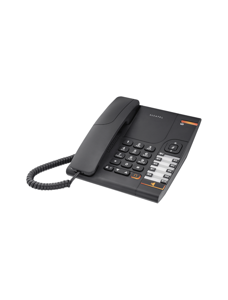Teléfono Alcatel Temporis 380 Negro