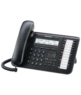 Teléfono Digital Panasonic KX-DT543NE-B - Color Negro