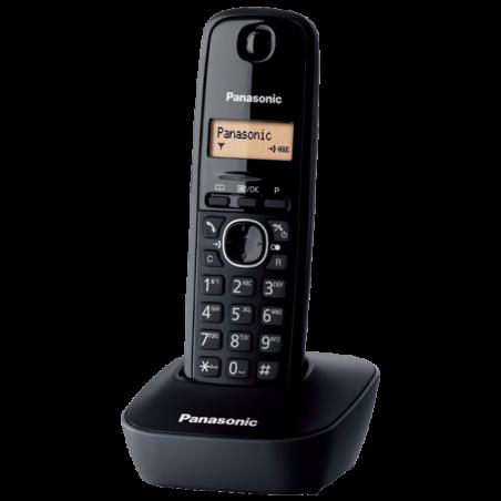 Teléfono Panasonic KX-TG1611SPH Negro