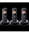 Teléfono Panasonic KX-TGB213SPB Trio