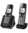 Teléfono Panasonic KX-TGD312SPB Dúo Negro