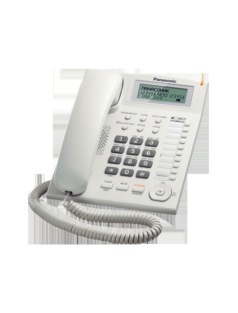 Teléfono Panasonic KX-TS880EXW