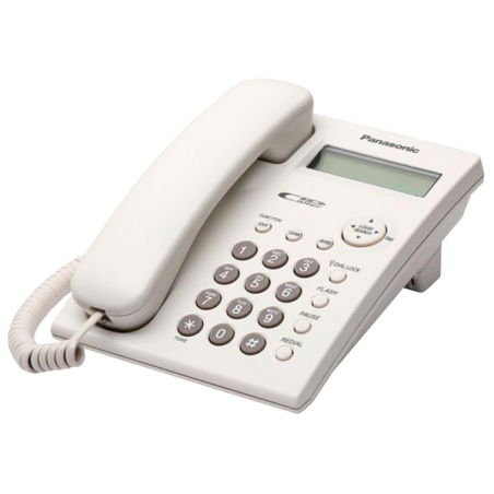 Teléfono Panasonic KX-TSC11EXW Blanco