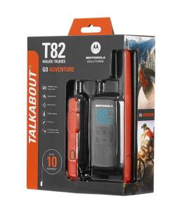 Embalaje del Walkie Motorola TLKR T82