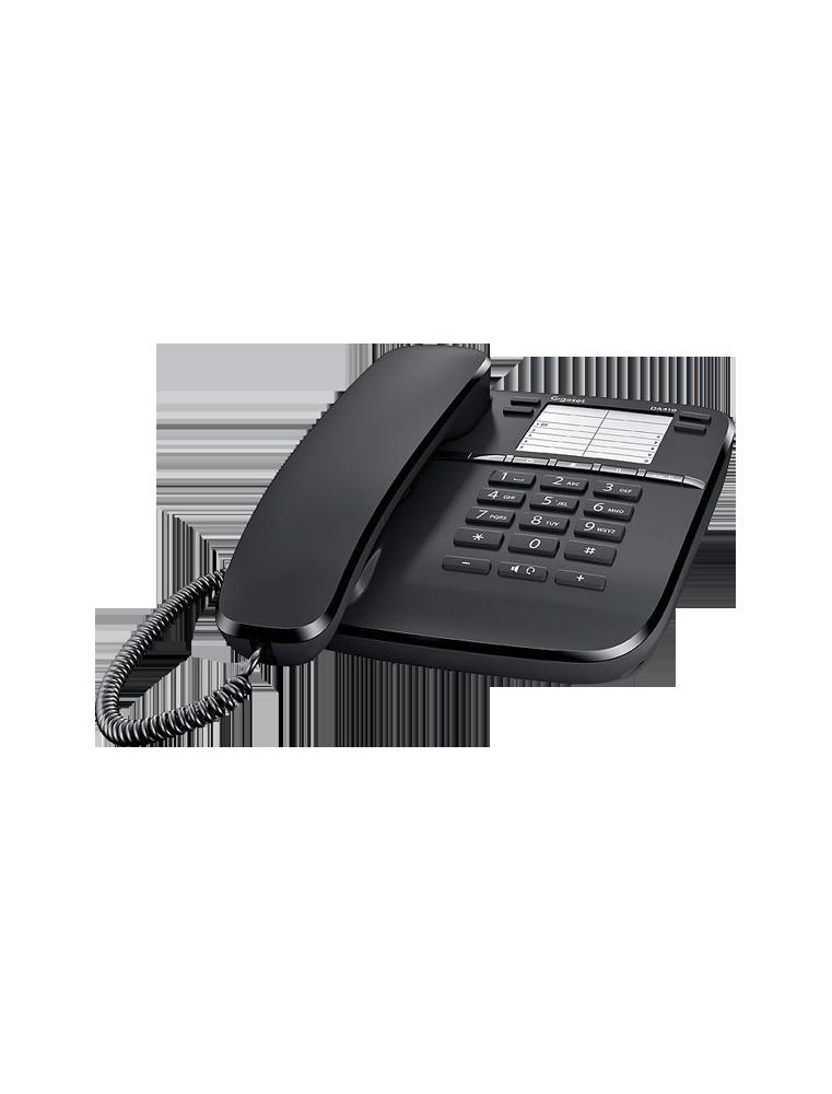 Teléfono Gigaset DA410 Negro
