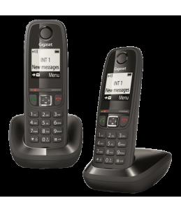 Teléfono Gigaset AS405 Dúo Negro