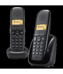 Teléfono Gigaset A150 Dúo Negro