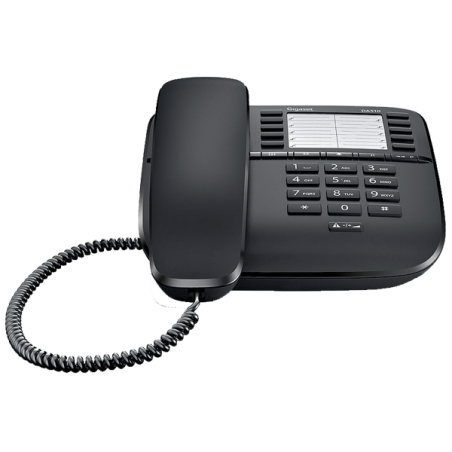 Teléfono Gigaset DA510 Negro