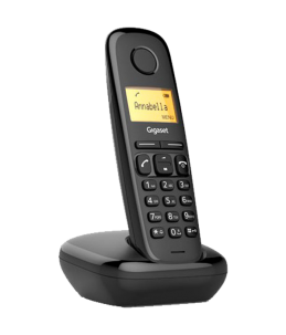 Teléfono Gigaset A170 Negro