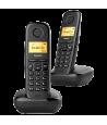 Teléfono Gigaset A170 Dúo Negro