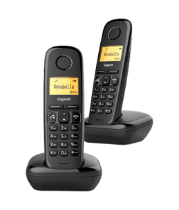 Teléfono Gigaset A270 Dúo Negro