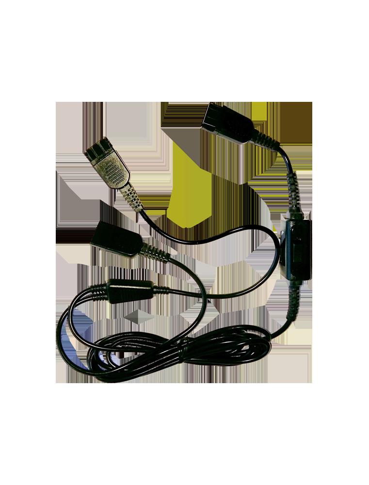 Cable Freemate DS QD con Mute