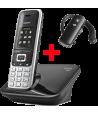 Teléfono Gigaset S850 + Auricular Sennheiser Ezx70