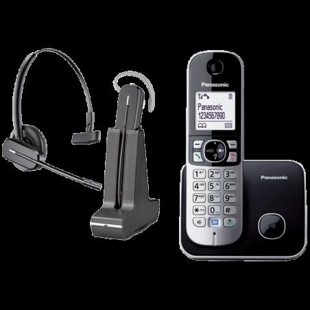 Teléfono Panasonic KX-TG6811 + Auricular Plantronics C565
