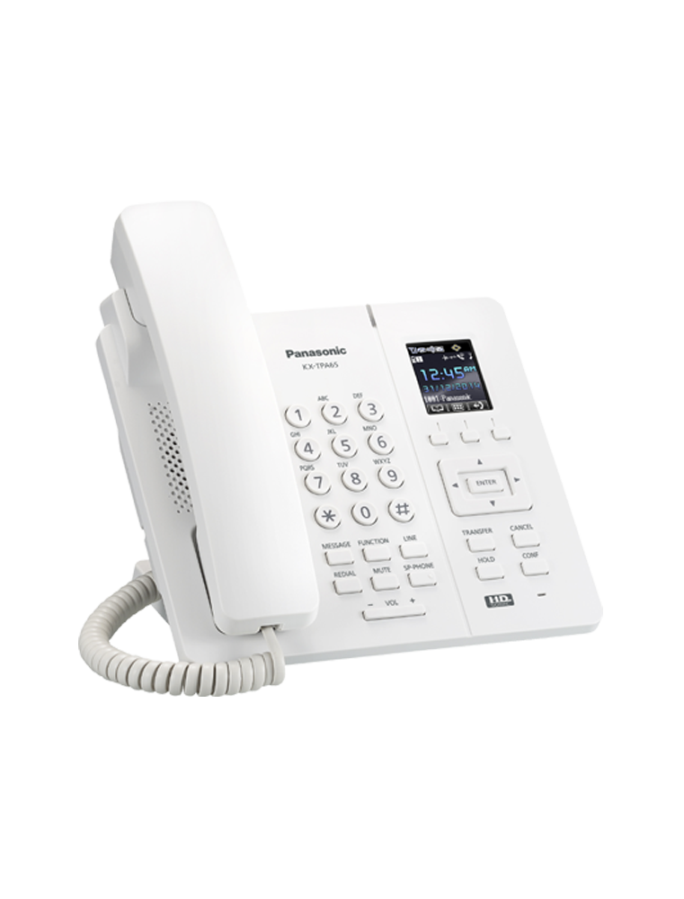 Teléfono Panasonic KX-TPA65 Blanco