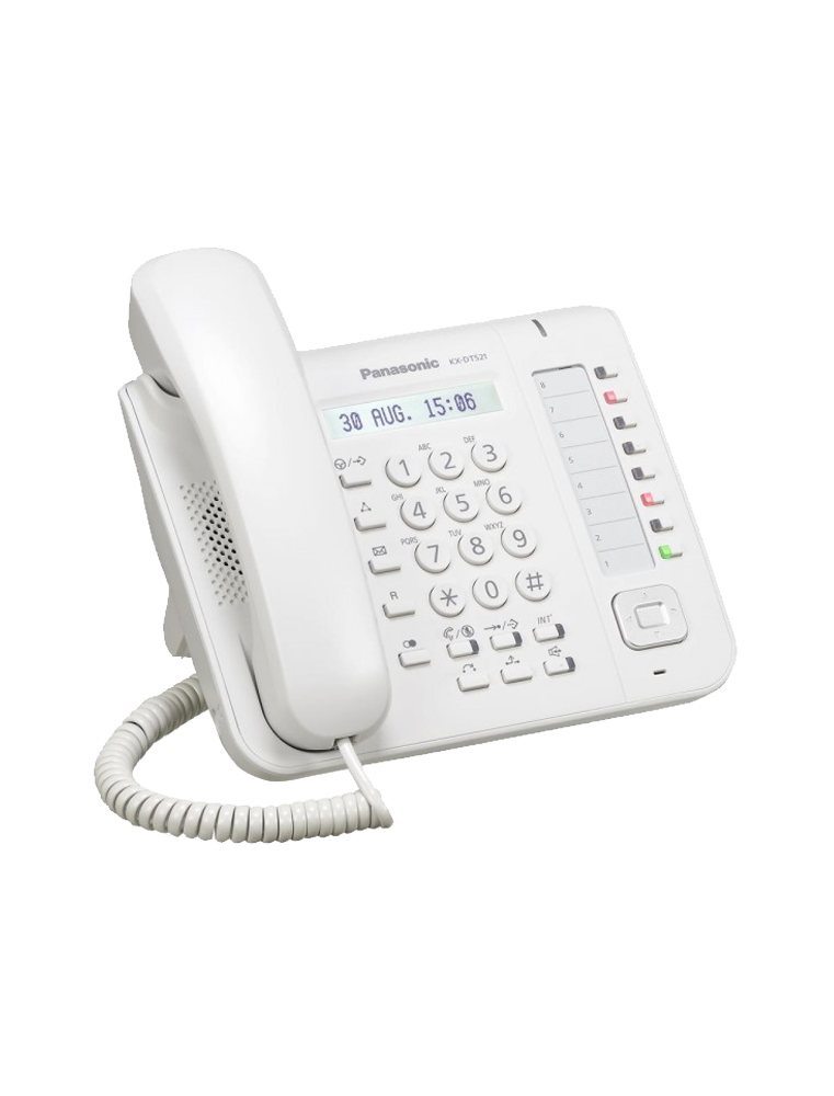 Teléfono Panasonic KX-DT521 Blanco