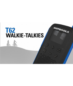 Disfruta del tiempo libre - Talkabout Motorola TLKR T62