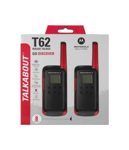 Presentación Walkie Motorola TLKR T62