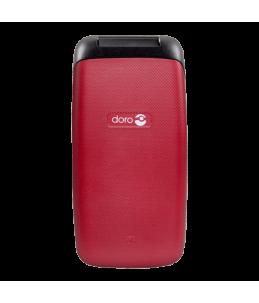 Teléfono Doro Primo 401 Rojo plegado