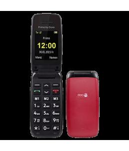 Teléfono Doro Primo 401 Rojo
