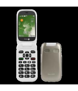 Teléfono Doro 6520 T2MPX - Champagne/Blanco