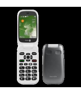 Teléfono Doro 6520 Grafito/Blanco
