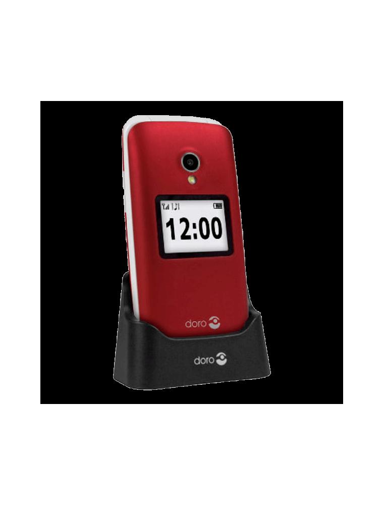 Teléfono Doro 2424 Rojo