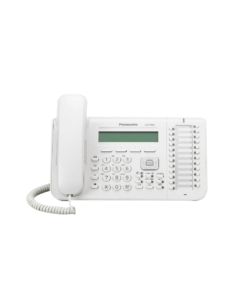 Teléfono Panasonic KX-DT543NE - Blanco
