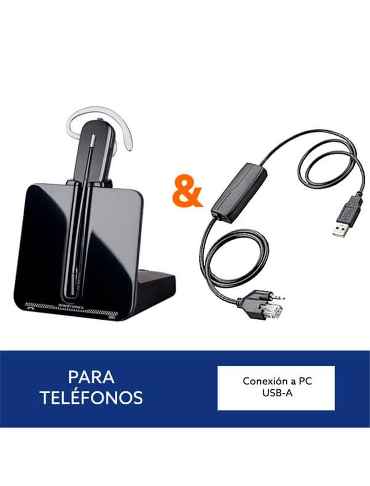 Auricular Plantronics CS540 + Descolgador APU-76