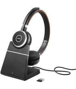 Auricular Jabra Evolve 65 MS USB Dúo + Base Cargadora