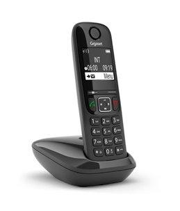 Teléfono Gigaset AS690 Negro