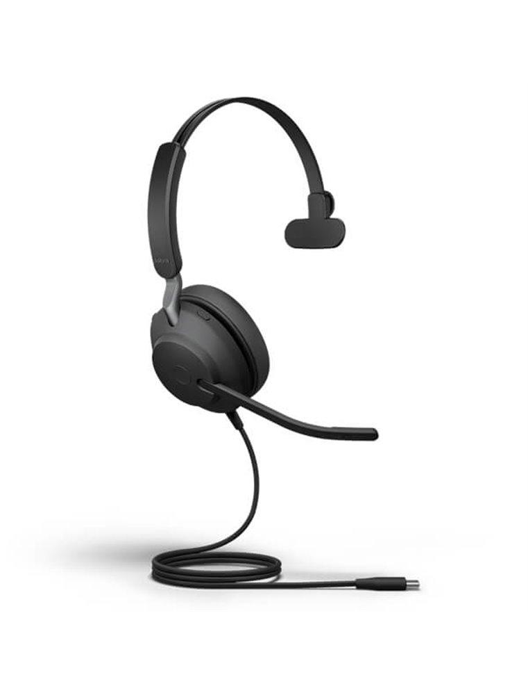 Auricular Jabra Evolve2 40 USB-C MS Mono