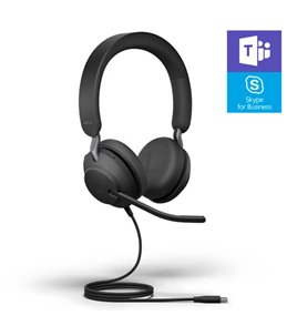 Auricular Jabra Evolve2 40 USB-C MS Estéreo