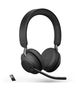 Auricular Jabra Evolve2 65 USB-A UC Estéreo Negro