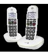 Teléfono Doro PhoneEasy 110 Dúo Blanco